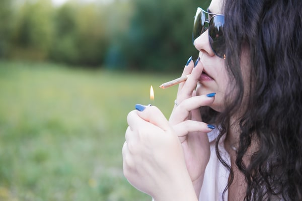 Young-Girl-Smoking-Medical-Marijuana