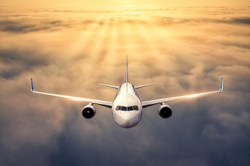 Flying away to wellness destinations.